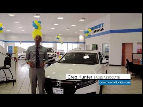 Find Your New Honda With Greg | Baytown Honda Dealer