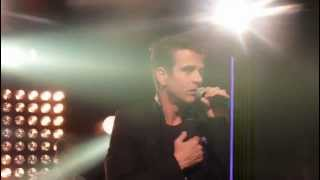 Joey McIntyre and NKOTB Sing Please Don't Go Girl at IHeart Radio NYC 4/4/13