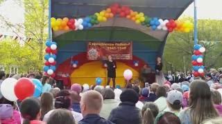 """Песня """"Кукушка"""", Анна Быкова, школа №92, Троллейный."""