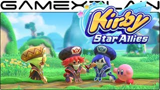 Kirby Star Allies - The 3 Mage-Sisters Trailer (Wave 3 DLC)
