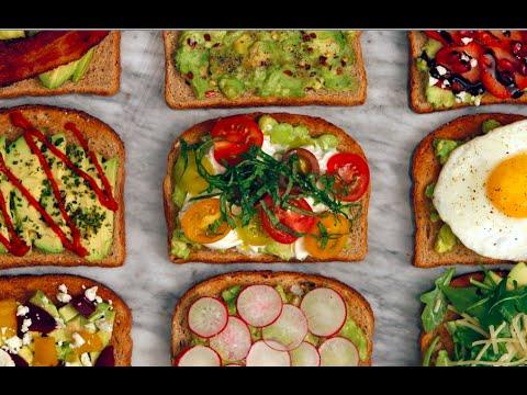 Video 9 Avocado Toast Recipes You Need Now