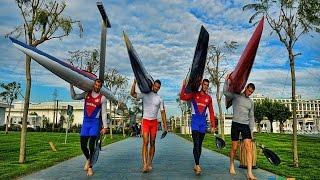 preview picture of video 'Turkish & Serbian Canoe/Kayak Camp in Belek Antalya( www.hubtour.com.tr )'