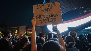 Protests Follow Grand Jury Decision in Breonna Taylor Case