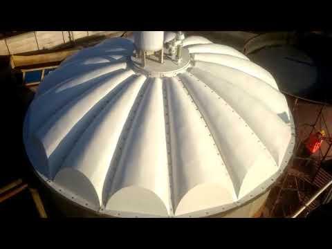 Delta Cover: coperture in vetroresina per impianti di depurazione