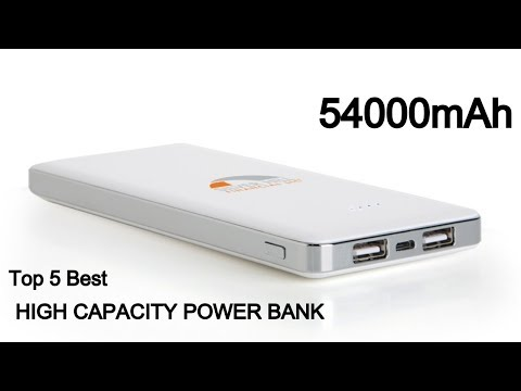 Top 10 Best High Capacity Portable Power Banks For Laptop ,Smartphone,Tablet in 2019