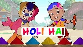 Khelenge Hum Holi - Special Video with Chhota Bheem, Mighty Raju & Krishna Balram