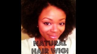 Natural Hair Look w/o the Work - Kinky Comber Weave
