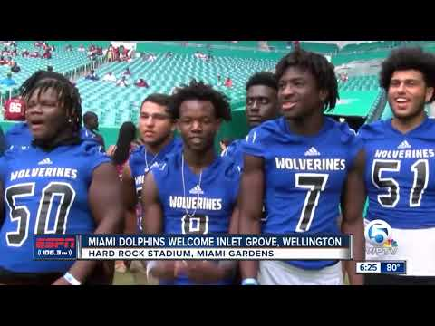 Wellington and Inlet Grove selected as the Miami Dolphins teams of the week