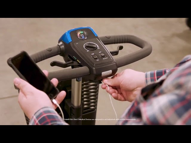 Pride Revo Mobility Scooter Video