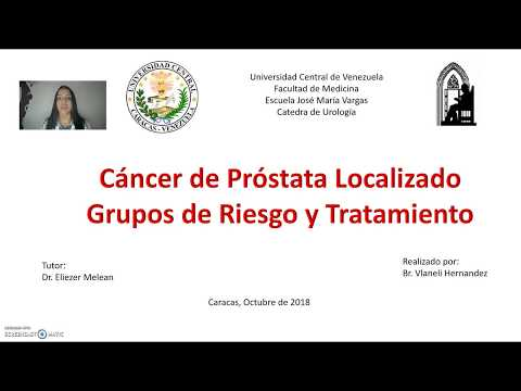 Aumento de la ecogenicidad de la porción de glándula de la próstata