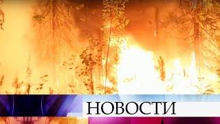 Почти 16 тысяч гектаров охвачены огнем в российских регионах.
