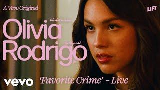 Olivia Rodrigo - Favorite Crime (Live)