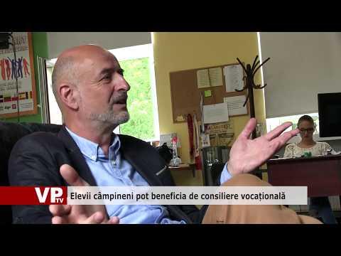 Elevii câmpineni pot beneficia de consiliere vocațională
