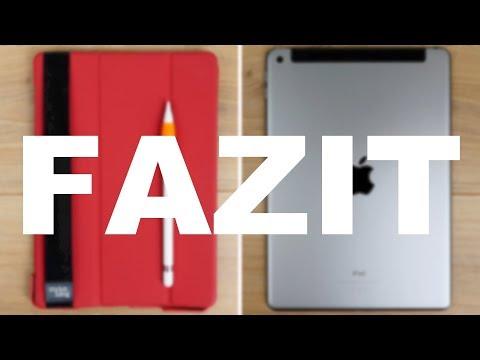 iPad 2018 & Apple Pencil + Zubehör - Test Fazit nach 6 Wochen intensiver Nutzung! // DEUTSCH