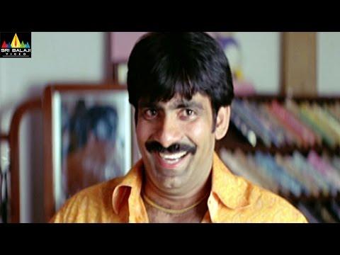 Vikramarkudu Comedy Scenes Back to Back   Ravi Teja, Brahmanandam   Sri Balaji Video
