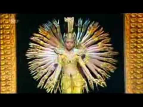 ריקוד אלף הידיים - 21 רקדניות חרשות-אילמות