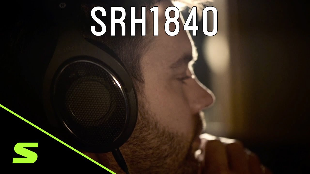 Shure Headphones: SRH1840