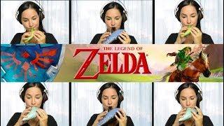 Legend of Zelda: Saria's Song (Lost Woods) on Ocarina + Sheet Music!