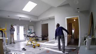 AirBnb/Garage Apartment - 2 Car Garage To One Bedroom - Start To Finish Time Lapse