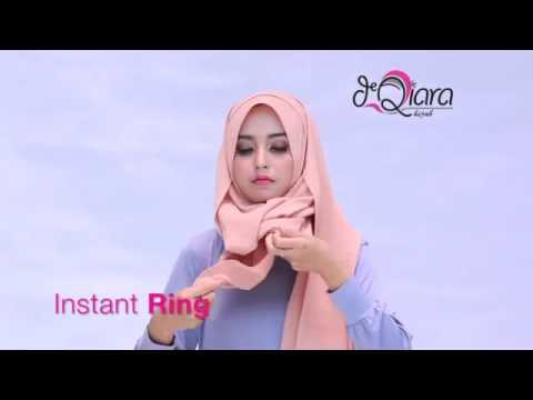 Video Instant RING by deQiara Hijab