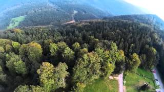 preview picture of video 'Black Forest Sasbachwalden Quadrocopter Flug'