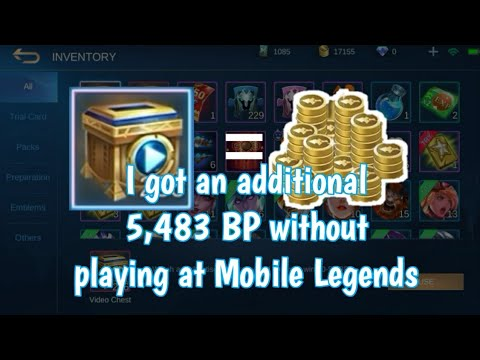 How to get an additional BP at Mobile Legends
