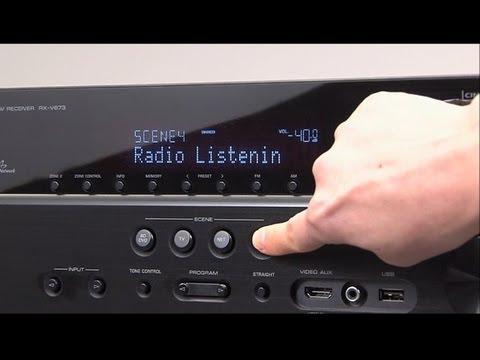 Yamaha AV Receiver -SCENE
