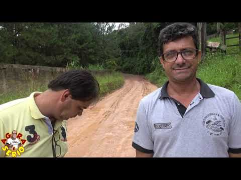 Vereadores Chiquinho e Ginho fiscalizando a SPA 070/230 Estrada Velha de Juquitiba destruída pelas Chuvas