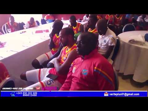 briefing avant match RDC vs Botswana