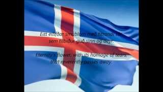 "Icelandic National Anthem - ""Lofsöngur"" (IS/EN)"