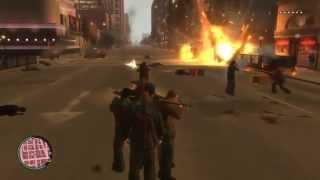 preview picture of video 'GUERRA EN LIBERTY CITY - GTA IV'