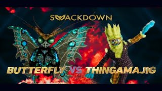 Masked Singer SnackDown between Butterfly and Thingamajig | Season 2 Episode 9