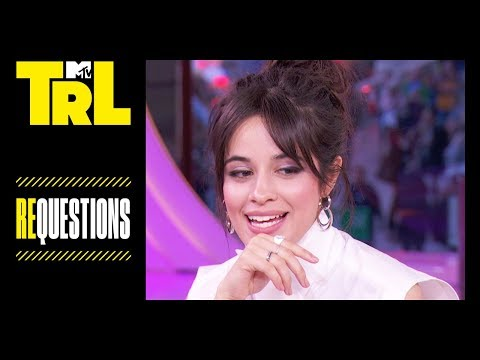 Camila Cabello Teaches Hayley Kiyoko How to Dance | Requestions | TRL Weekdays at 4pm