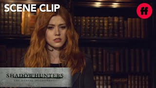 Shadowhunters | Season 2, Episode 16: Clary Opens A Portal to Idris | Freeform