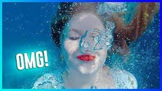 TESTING WATERPROOF MAKEUP UNDERWATER!! | NikkieTutorials