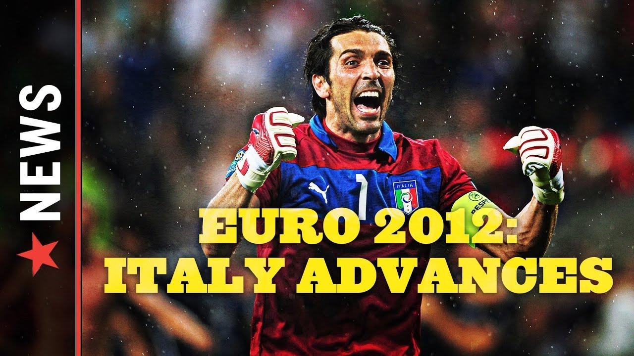 Euro 2012: Italy vs Ireland, Italy Advances from Group C thumbnail