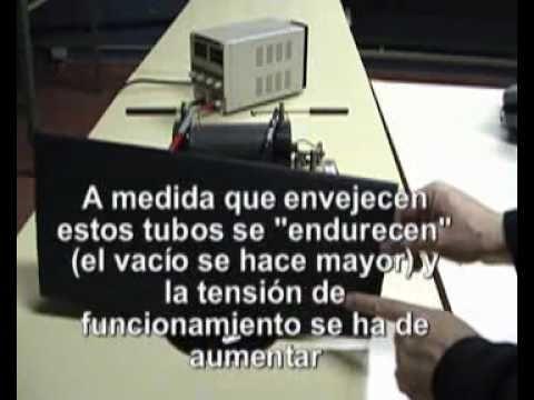 ¡Alerta! Rayos X en tubos de rayos catódicos