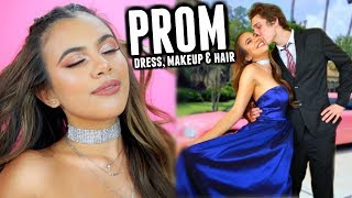PROM 2018: Dress, Makeup & Hair ♡ (GRWM)