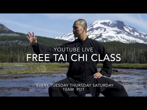 Free YouTube Live Tai Chi Class for beginning