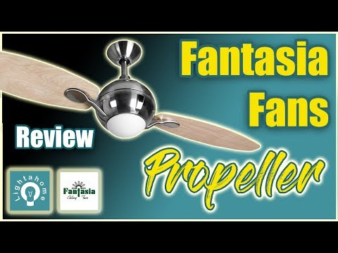 Fantasia propeller ceiling fan review