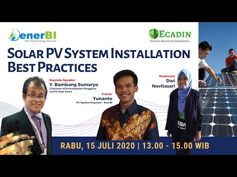 [LIVE] Solar PV System Installation Best Practices - YouTube