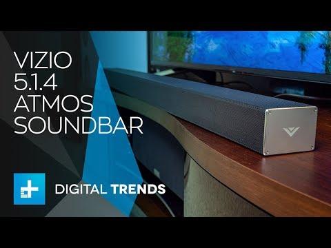 Vizio 5.1.4 Dolby Atmos Soundbar Review: Epic Atmos on the Cheap