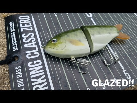 THE DONUT SHAD : A HAND CRAFTED GLIDEBAIT!! REVIEW !!