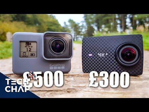 GoPro Hero6 Black vs Yi 4K+ : Best 4K60 Action Camera?   The Tech Chap