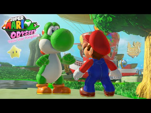 Super Mario Odyssey: Yoshi Star Kingdom - Full Walkthrough