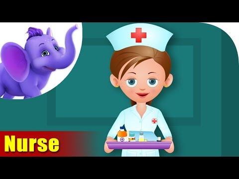 Nurse - Rhymes on Profession