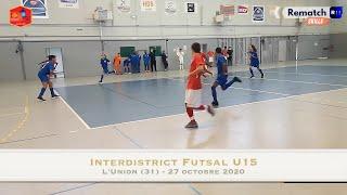 Interdistrict Futsal U15 Ouest (octobre 2020)
