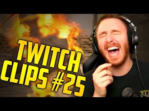 TWITCH LIVESTREAM CLIPS OF THE WEEK #25