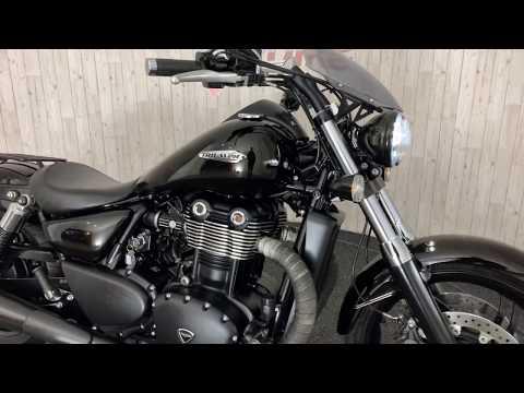 TRIUMPH THUNDERBIRD STORM 1700cc | Exhaust sound !! Walk