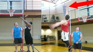 WHO HAS THE HIGHEST VERTICAL CHALLENGE?!?! YOU WONT BELIEVE THIS!